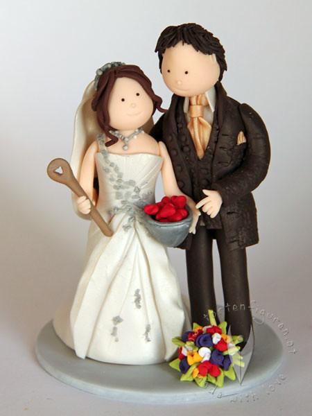 Tortenfigur Fur Die Hochzeitstorte Tortenfiguren Flickr