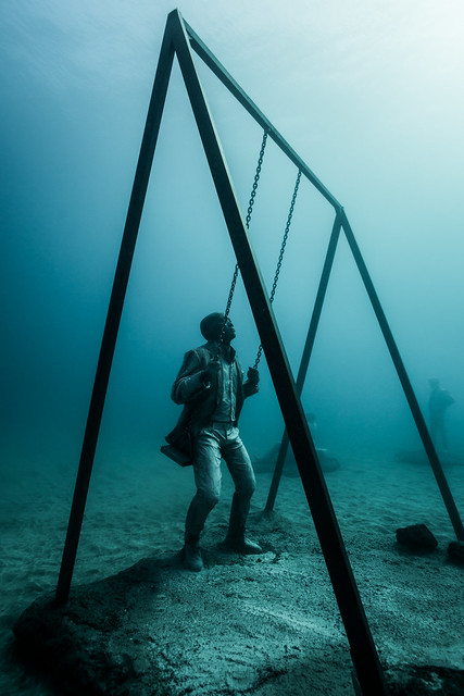 Europe's first underwater museum off Lanzarote