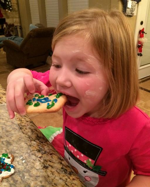 Santa Cookies 20142