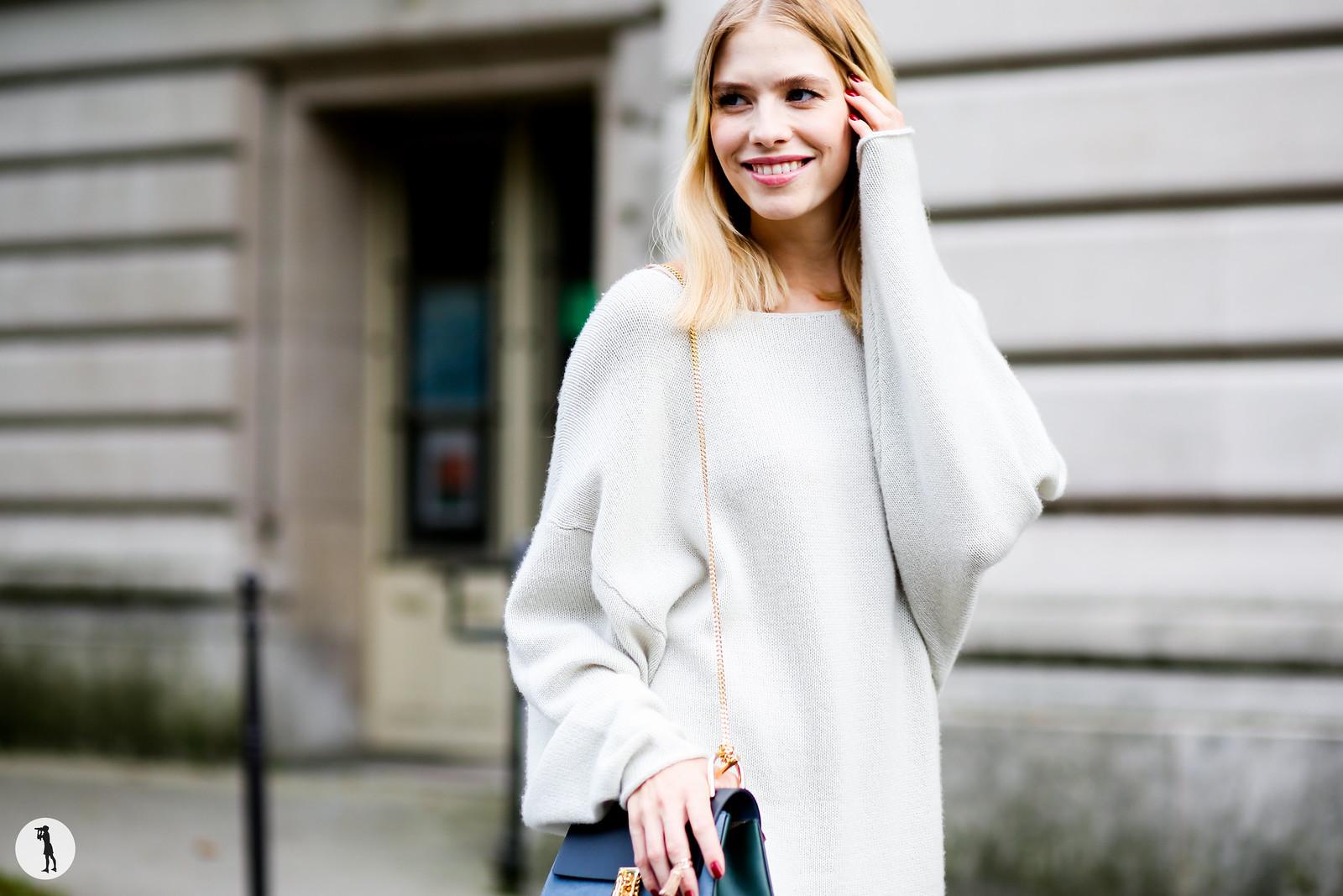 Elena Perminova - Paris fashion week RDT SS15 (4)