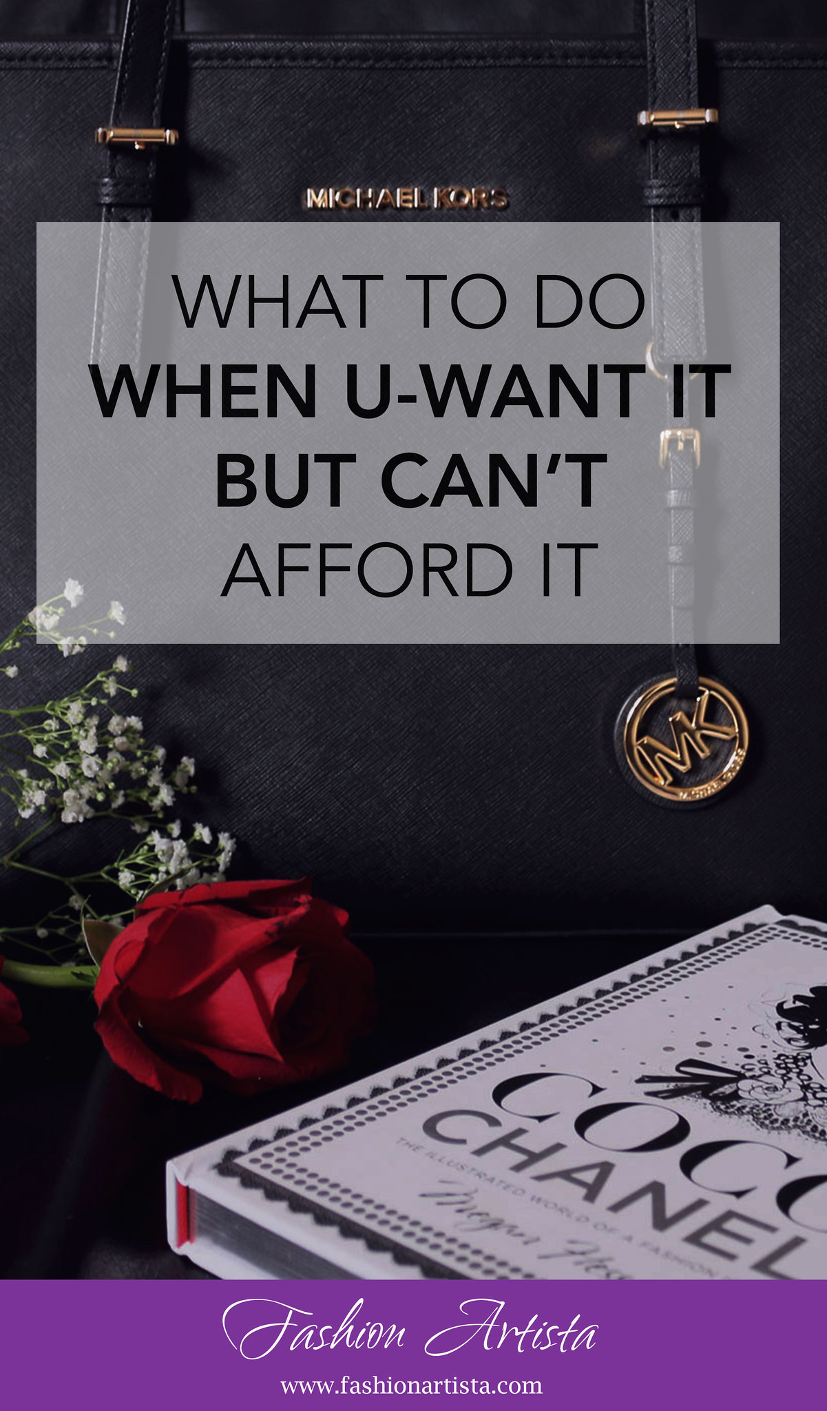 What to do when you want it but can't afford it - www.fashionartista.com