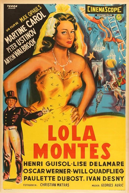 Lola Montès - Poster 2