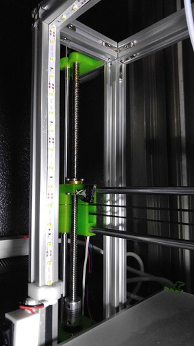 Prusa i3 加裝 LED 燈條