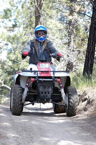 Atv rider | by Intermountain Region US Forest Service