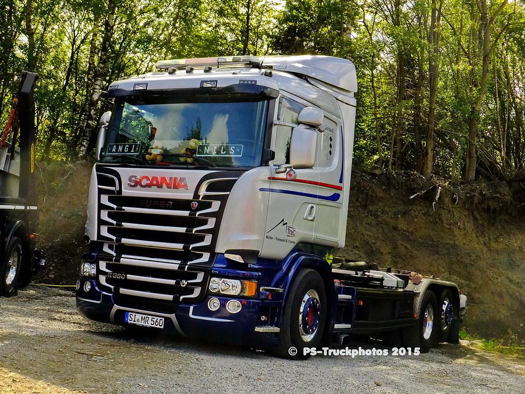 Scania Baustellenfahrzeuge Kipper 2015 Ps Truckphotos 097