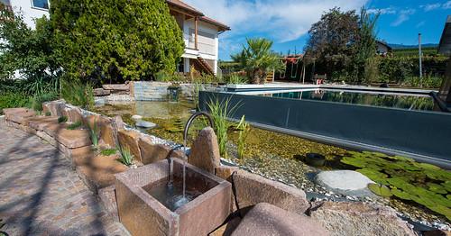 f milla bluebase base2 bio teich steinbrunnen wasserspiel flickr. Black Bedroom Furniture Sets. Home Design Ideas