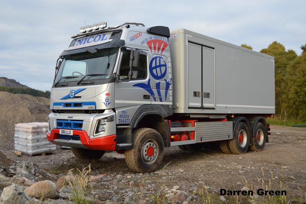 NICOL OF SKENE LTD VOLVO FMX 500 6x6 DR11 LLX | Daviot ...