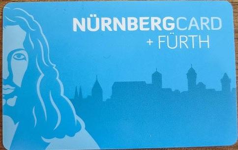 Nürnberg Card + Furth