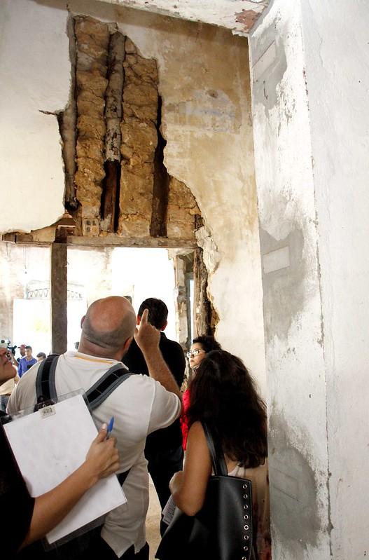 22-02-17-Visita técnica em casas no centro histórico de Manaus.