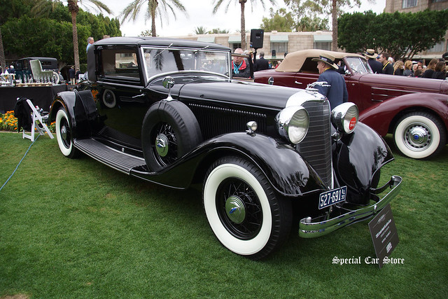 1933 Lincoln Model KB Judkins Coupe