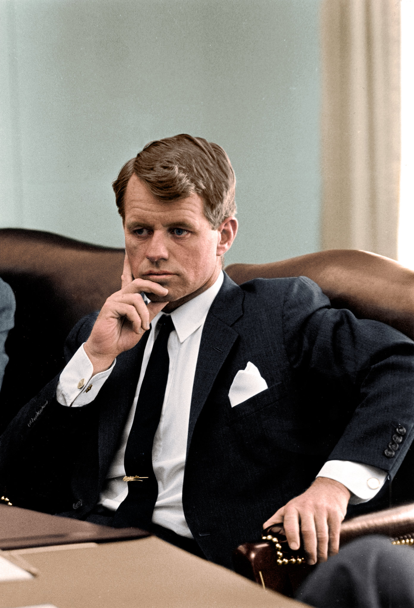 Attorney General Robert F Kennedy Serving Under The Johnson