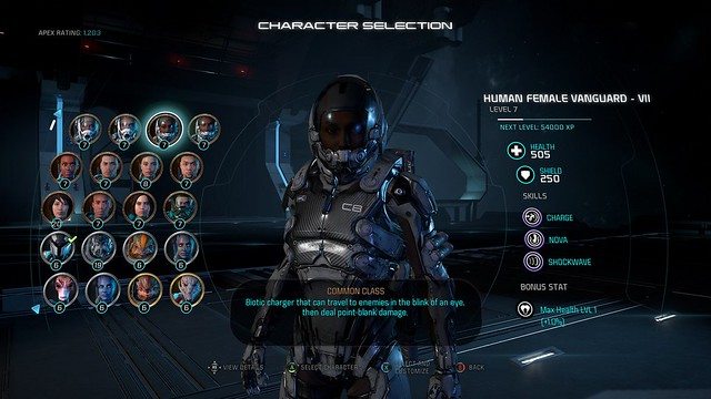 Mass Effect Andromeda Multiplayer Customization