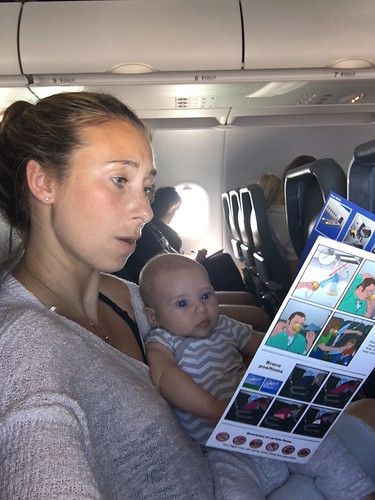 Family Travel expert Julia Dimon flying with infant across country