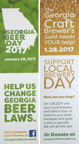 #GeorgiaBeerDay 2017