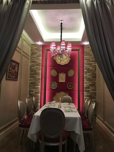 Lartizan restaurant, private room