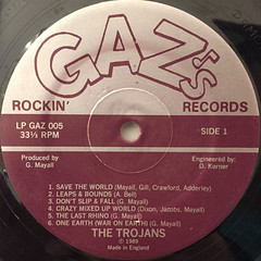 THE TROJANS:SAVE THE WORLD(LABEL SIDE-A)