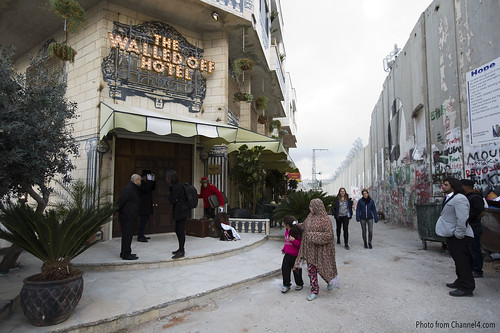 Walled Off Hotel by Banksy 1