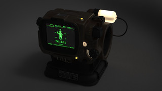 Pip-Boy 3000 Mk4, Render Series 3, Dark | by ZapWizard