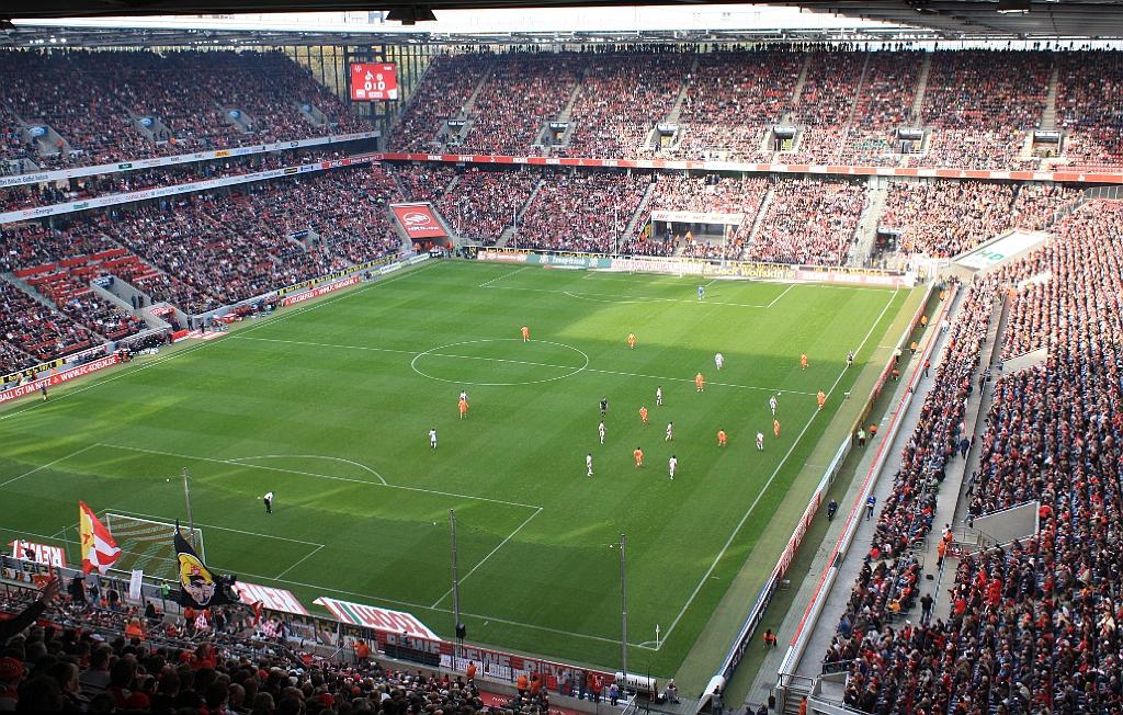 1 FC Köln vs FC Energie Cottbus (Köln)  RheinEnergie