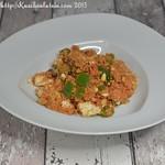Würzige Couscous-Tomaten-Pfanne