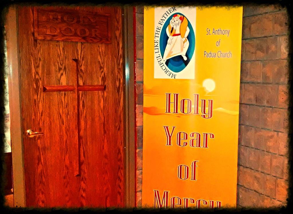 ... Holy Door at St. Anthony of Padua Church Br&ton | by Lakshman Williams & Holy Door at St. Anthony of Padua Church Brampton | Dec 13 \u2026 | Flickr