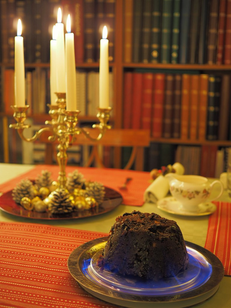 Christmas Pudding On Fire.Christmas Pudding Fire 2016 James Petts Flickr