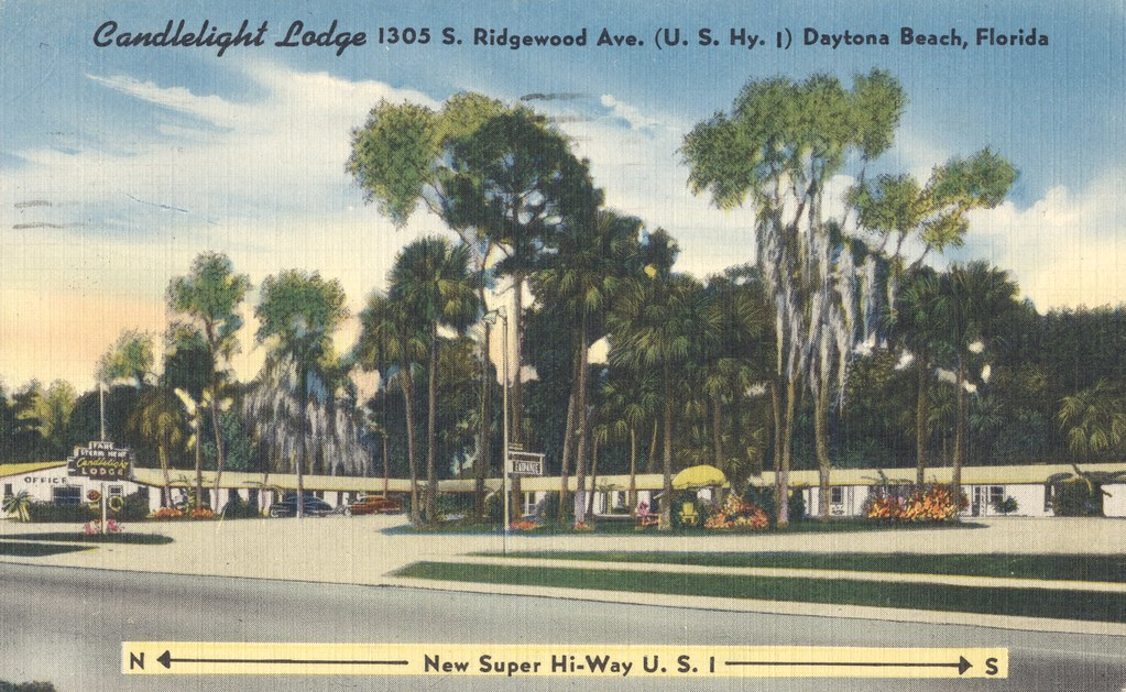 Candlelight Lodge  - Daytona Beach, Florida