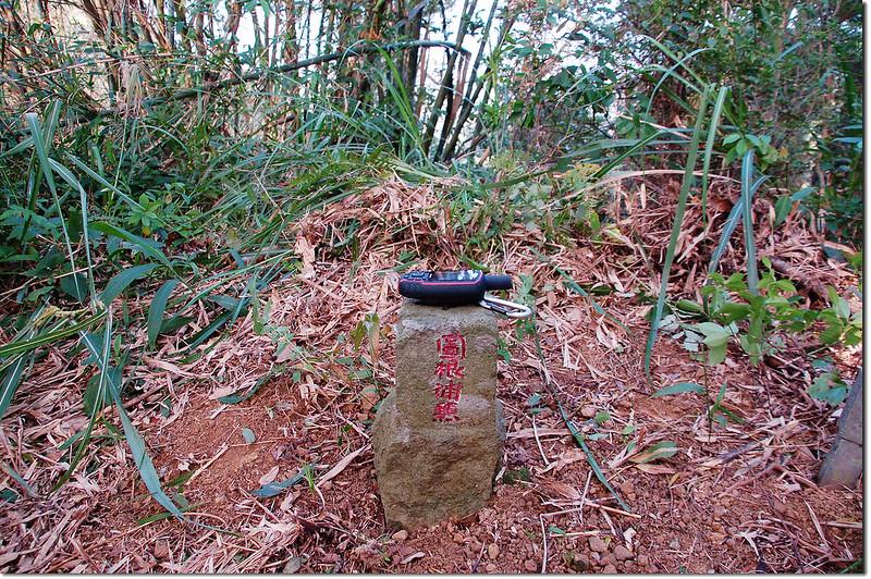 金合盒山總督府圖根補點(Elev. 401 m) 2