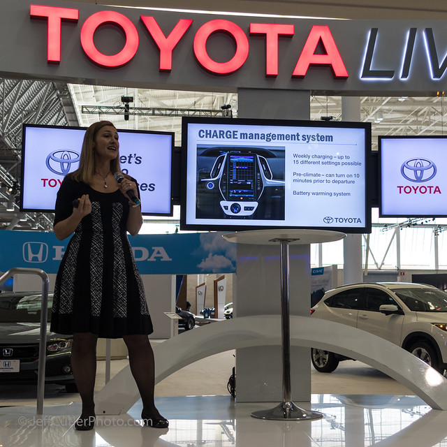 Toyota Information at the Press Conference