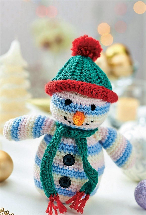 Crochet Snowman Toy Pattern Amazing Patterns For Crochet A Flickr