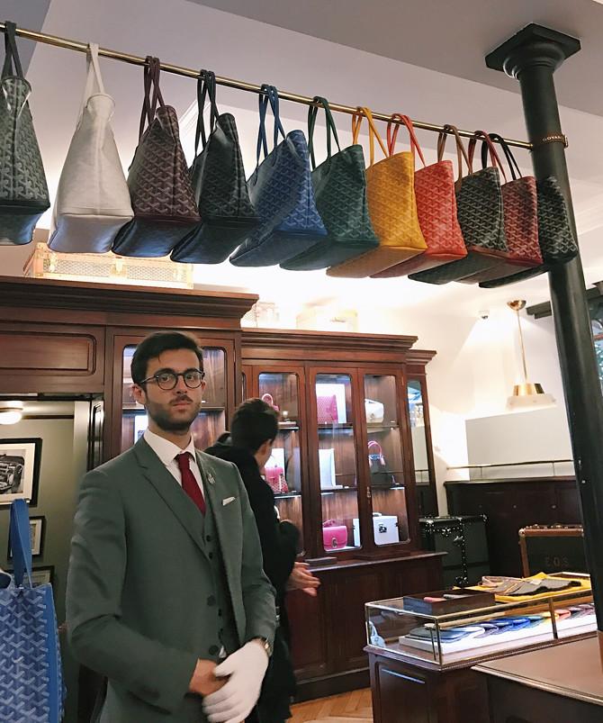 buying goyard st louis bags cheaper in paris france st honore store