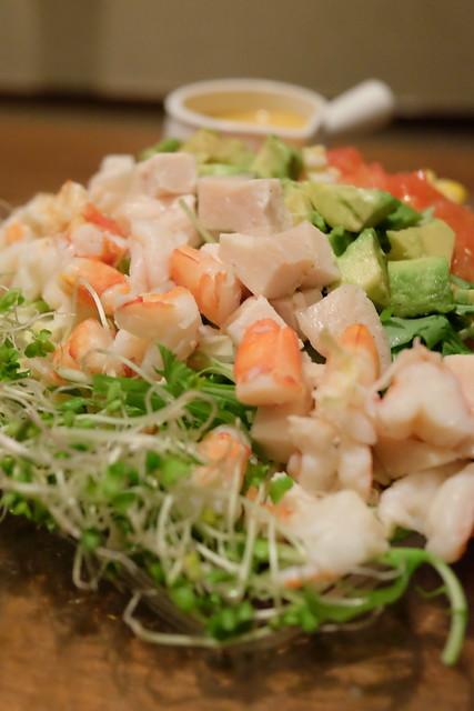GLASSY STYLE Cobb's salad