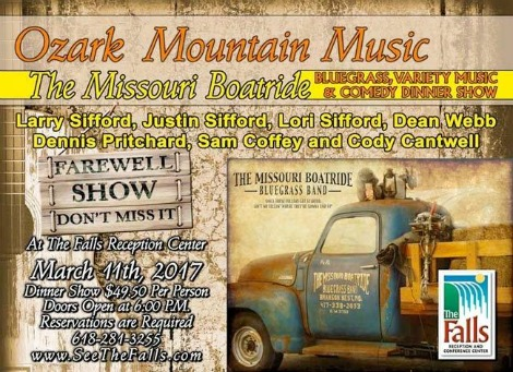 Ozark Mountain Music 3-11-17