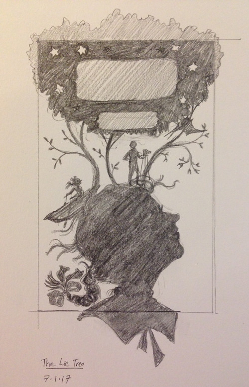 The Lie Tree - pencils