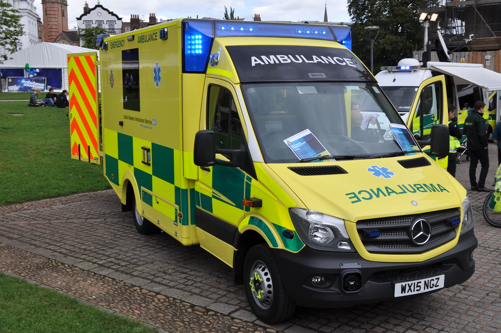 South Western Ambulance Service Mercedes Sprinter Emer