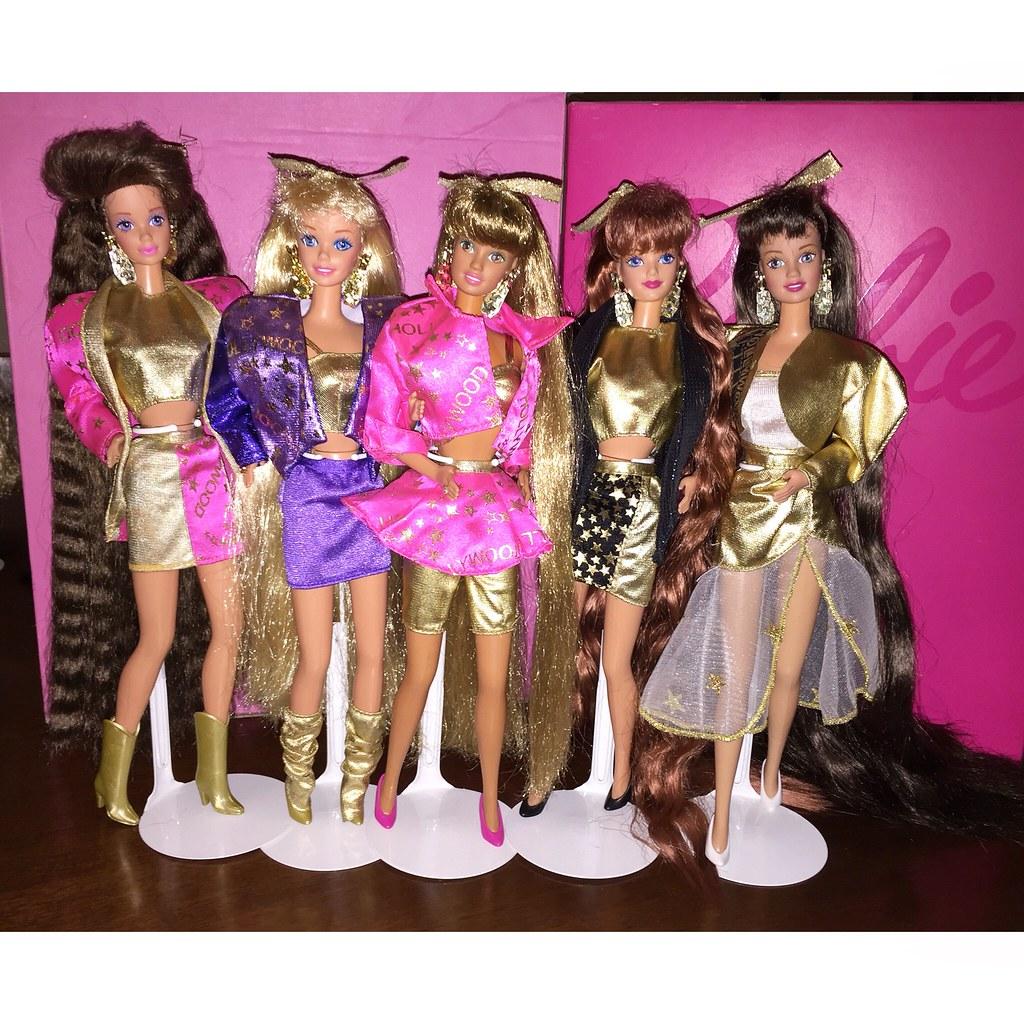 Barbie Hollywood Hair 1992 Whitney Totally Hair Teresa