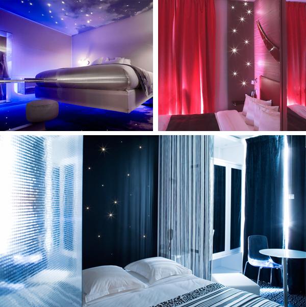 El espectacular hotel Five Boutique, un hotel boutique en París con habitaciones de película