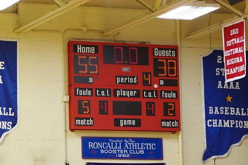 Boys Basketball Frosh vs Scecina