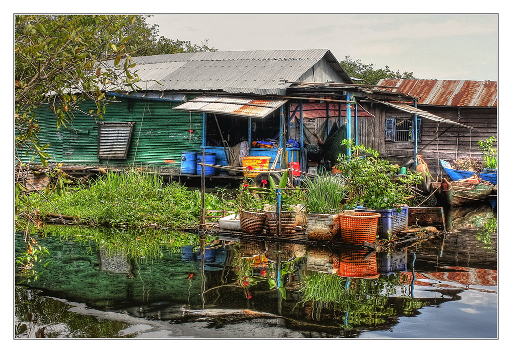 Tonle Sap Lake K - Chong Kneas the floating village - floa… | Flickr