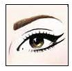 1. Delineado de un doble eyeliner
