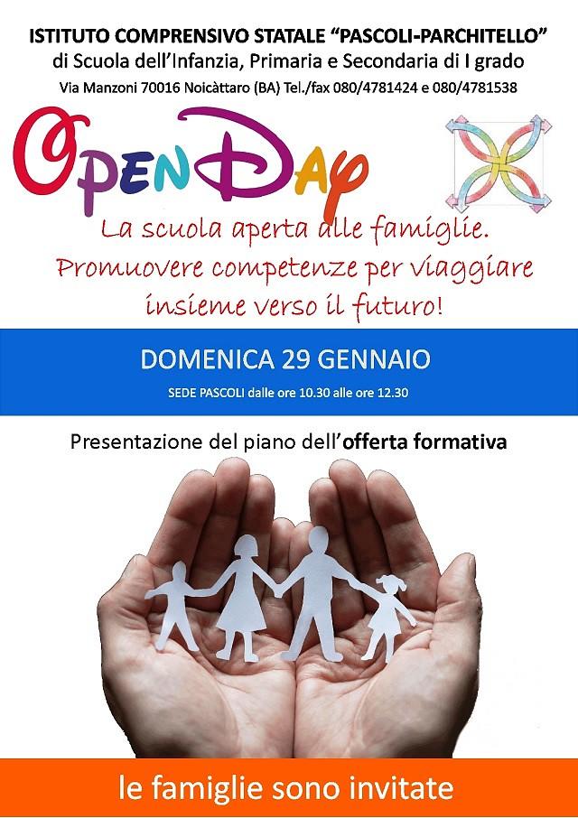 Noicattaro. Open Day Pascoli-Parchitello intero