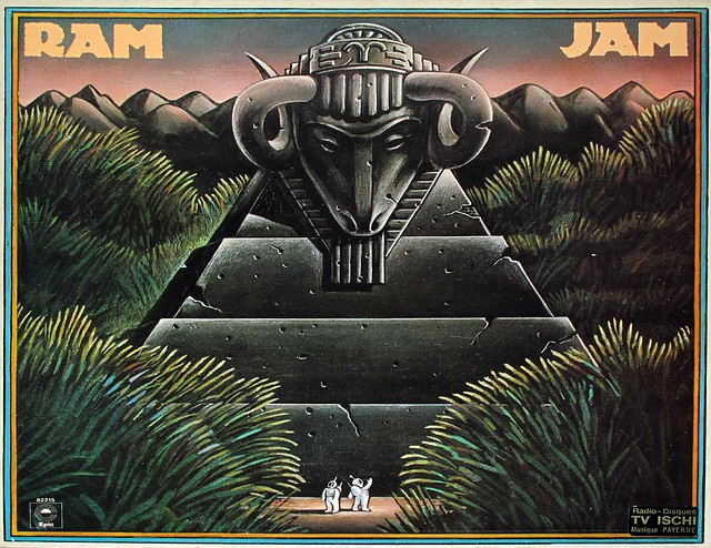 "RAM JAM SELF-TITLED BLACK BETTY 12"" LP"