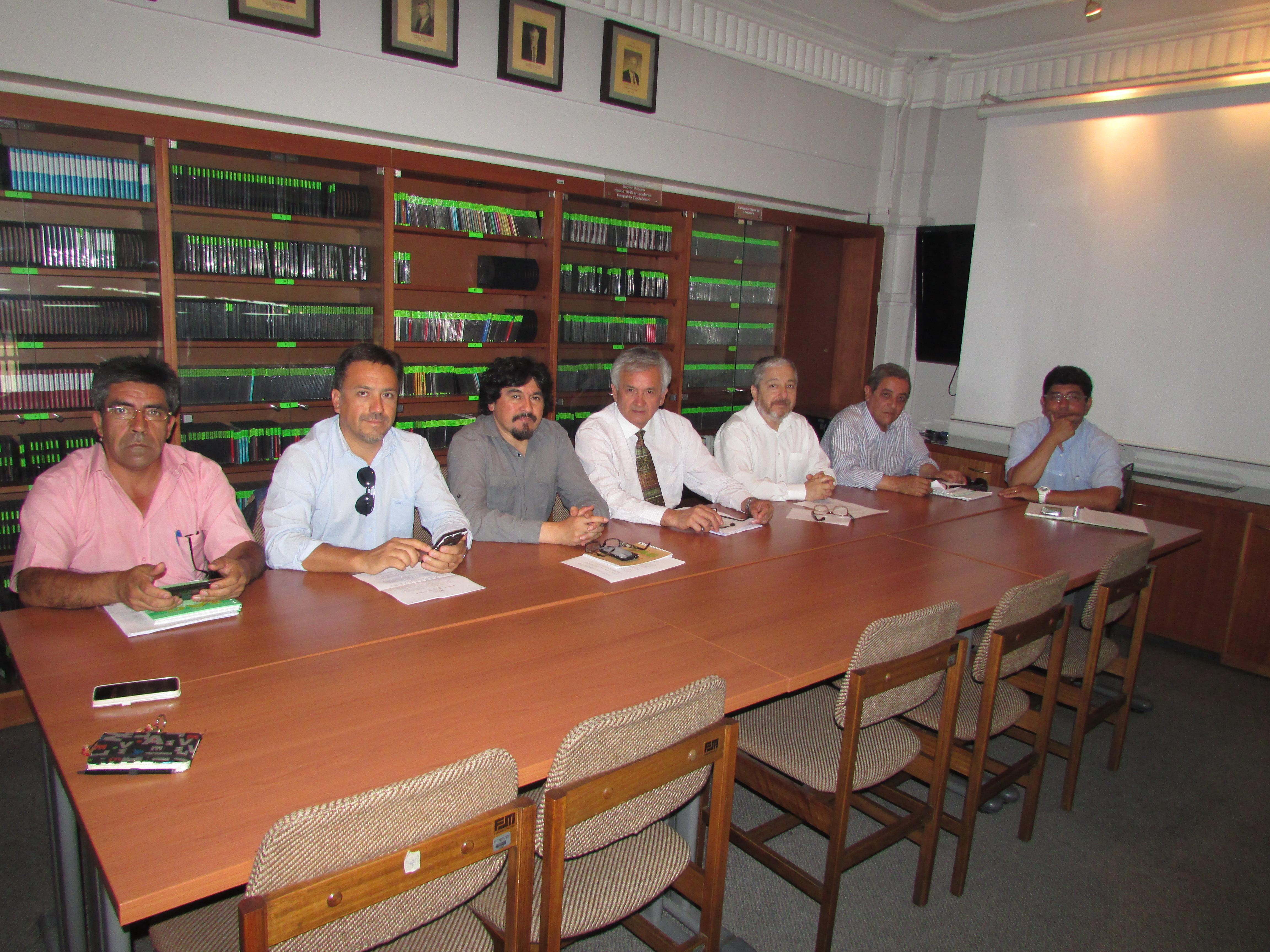 Imágenes reunión DIPRES Firma Histórico Acuerdo de Protocolo - 12 Diciembre 2016