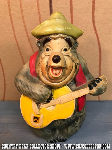 Vintage 1970s Walt Disney Big Al Bank - Country Bear Collector Show #086