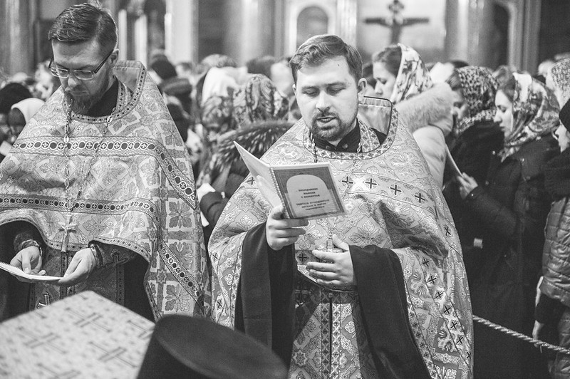 Казанский собор молебен