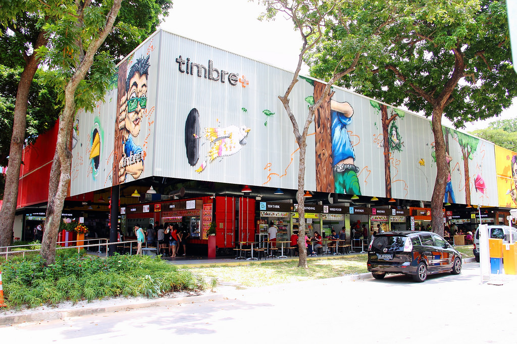 Hawker Centre in Singapore: Timbre Plus