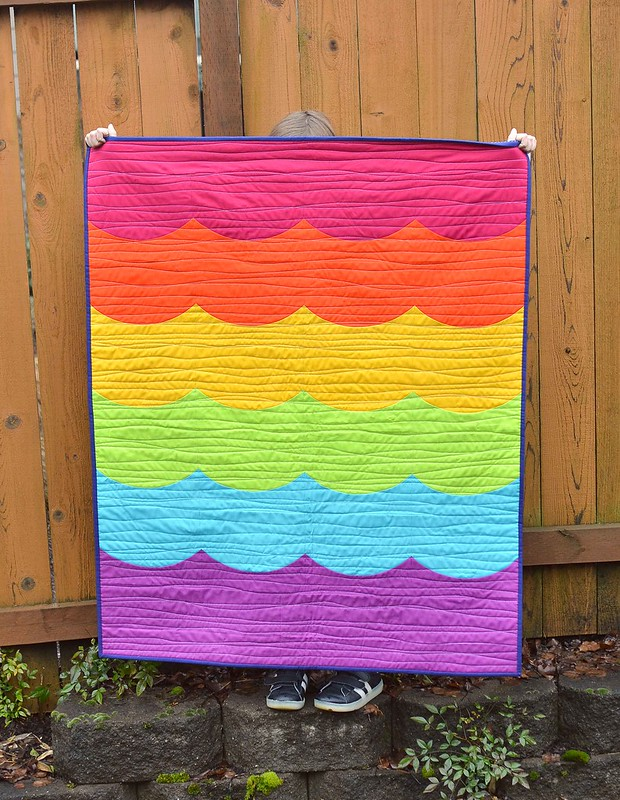 Rainbow Bright Quilt