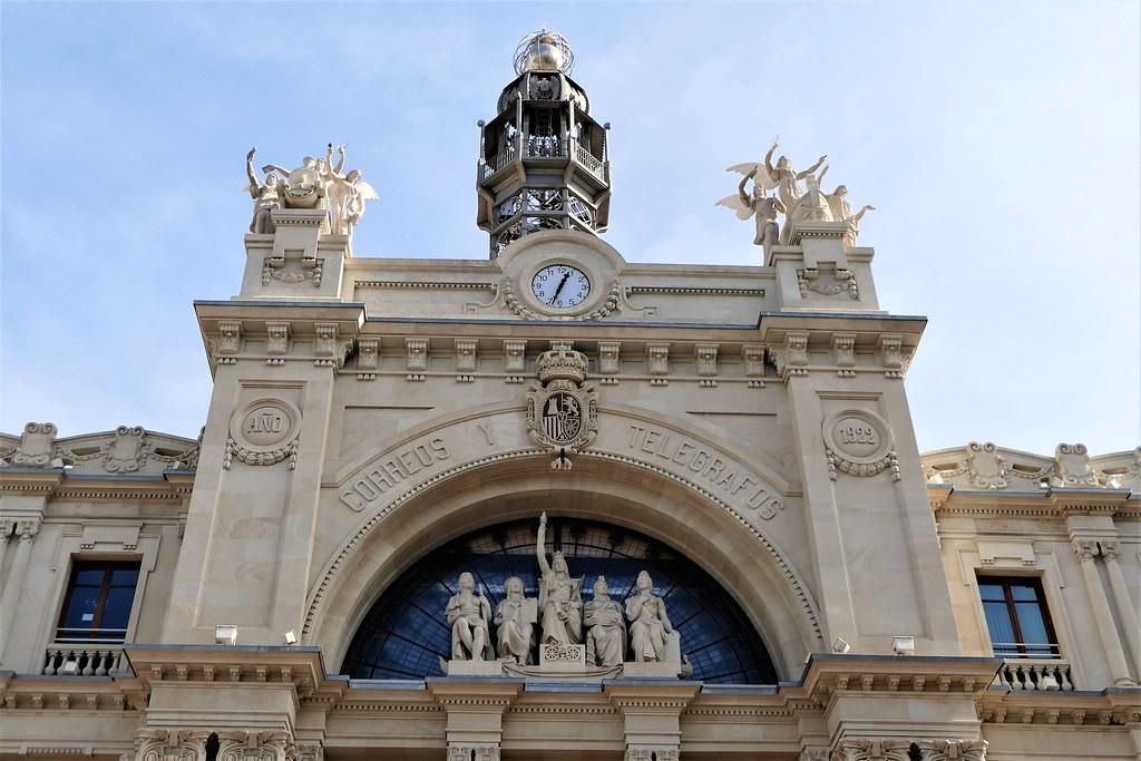Palacio de Comunicaciones o Correos de Valencia   Edificio d…   Flickr