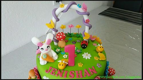 Garden Design Birthday Cake birthday cake / garden design cake / fondant cake / icing …   flickr