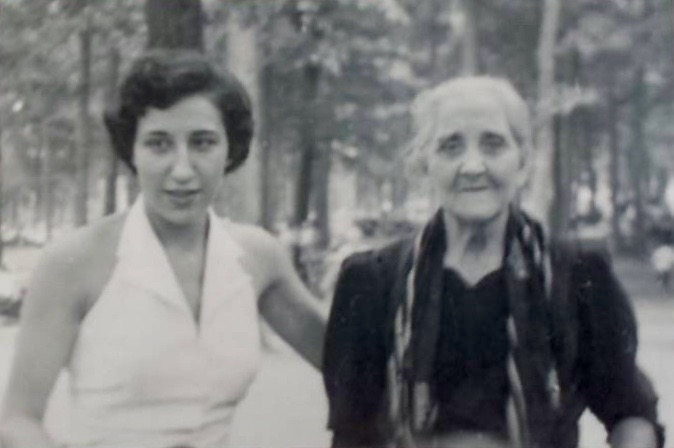 Great Grandmother  Katherine Gianquinto and Joan Macaluso Cuttitta